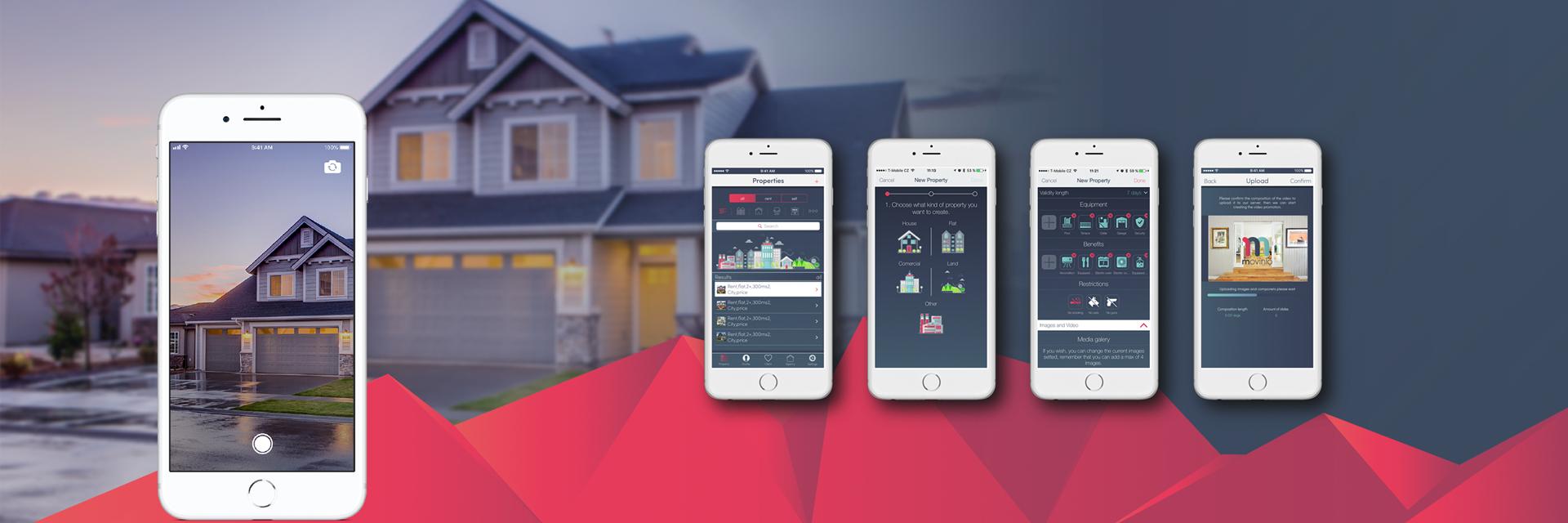 MOVINIO – Unikátní app pro realitní trh
